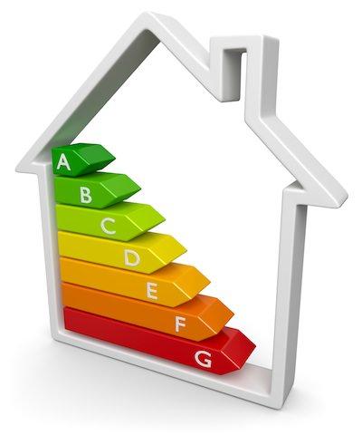 Haus Energieeffizienz Rahmen seitlich